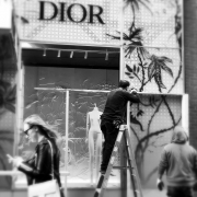 DIOR - PROTESTS - NEW YORK