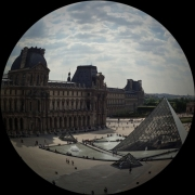 LOUVRE FISHEYE - PARIS